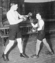 Image of old time boxers