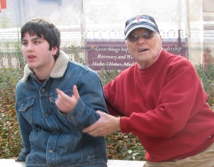 Clay and my father
